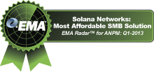 Solana Networks: Most Affordable SMB Solution
