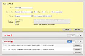 Custom alerts - SparrowIQ - Solana Networks